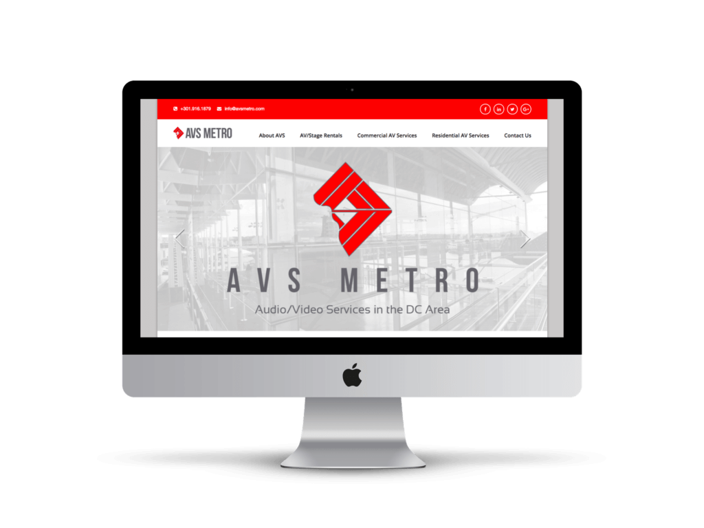 AVS Metro screen mockup